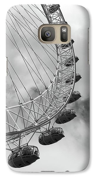 The London Eye, London, England Galaxy S7 Case