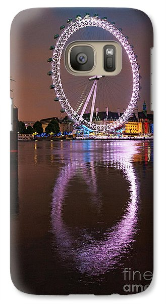 London Eye Galaxy S7 Case - The London Eye by Smart Aviation