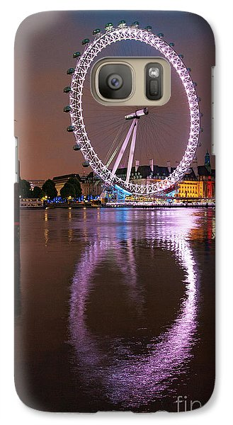 The London Eye Galaxy S7 Case by Nichola Denny
