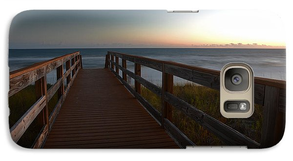 Galaxy Case featuring the photograph The Long Walk Home by Renee Hardison