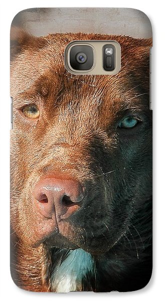 Galaxy Case featuring the photograph The Look by Eleanor Abramson