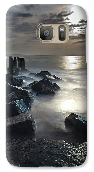 Galaxy Case featuring the photograph The Lost Shores by Everett Houser