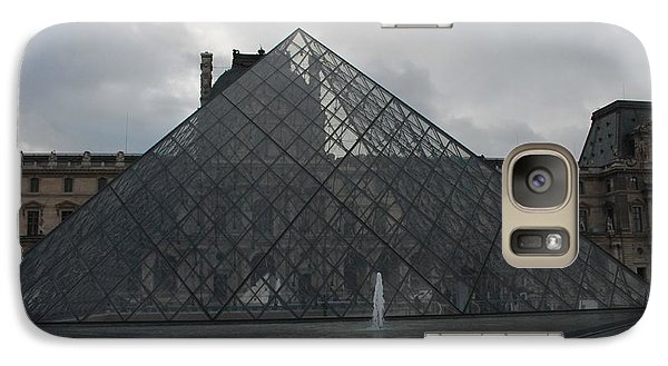 Galaxy Case featuring the photograph The Louvre And I.m. Pei by Christopher Kirby