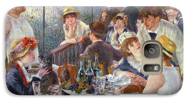 Cocktails Galaxy S7 Case - The Luncheon Of The Boating Party by Pierre Auguste Renoir