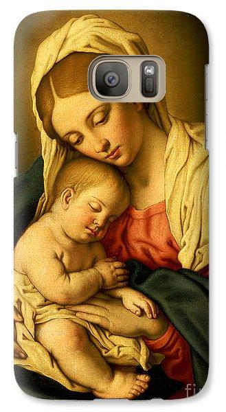 Religion Galaxy S7 Case - The Madonna And Child by Il Sassoferrato