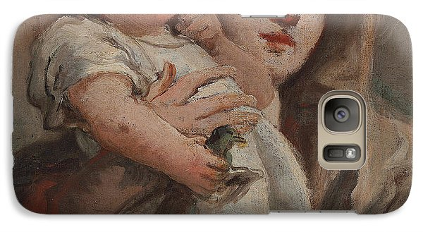 The Madonna And Child With A Goldfinch Galaxy S7 Case