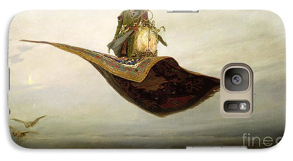 Magician Galaxy S7 Case - The Magic Carpet by Apollinari Mikhailovich Vasnetsov