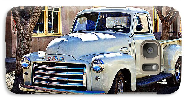 Galaxy Case featuring the photograph The Magic Of The 1949 Gmc 100 by Barbara Chichester