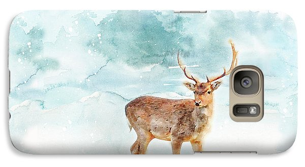 Galaxy Case featuring the painting The Magic Of Winter  by Colleen Taylor