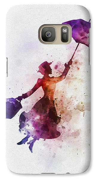 The Magical Nanny Galaxy S7 Case by Rebecca Jenkins