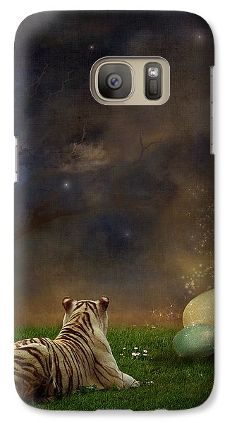 Fairy Galaxy S7 Case - The Magical Of Life by Martine Roch