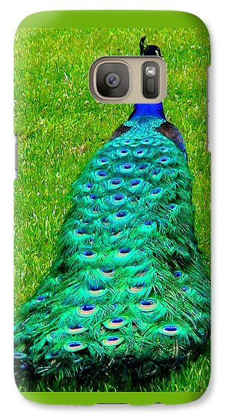 Galaxy Case featuring the photograph The Majestic Tail by Angela Annas