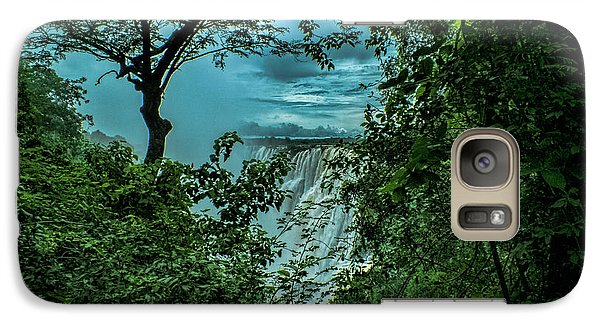 Galaxy Case featuring the photograph The Majestic Victoria Falls by Karen Lewis