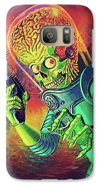 The Martian - Mars Attacks Galaxy S7 Case