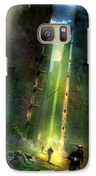 The Maze Runner Galaxy S7 Case by Philip Straub
