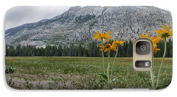 Galaxy Case featuring the photograph The Meadow by Paul Foutz
