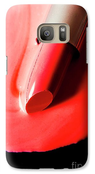 Galaxy S7 Case featuring the photograph The Melting Point Of Hot Fashion by Jorgo Photography - Wall Art Gallery