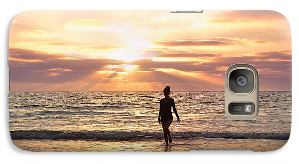 Galaxy Case featuring the photograph The Mermaid by Rima Biswas