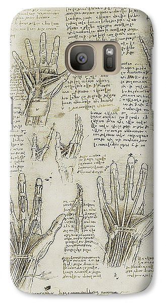Galaxy Case featuring the painting The Metacarpal by James Christopher Hill