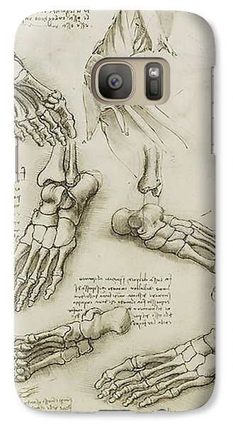 Galaxy Case featuring the painting The Metatarsal by James Christopher Hill