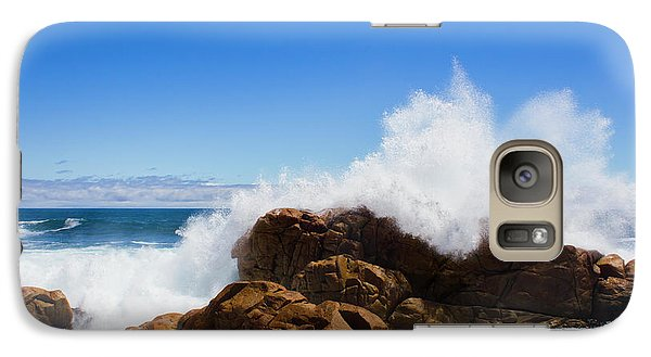 Galaxy Case featuring the photograph The Might Of The Ocean by Jorgo Photography - Wall Art Gallery