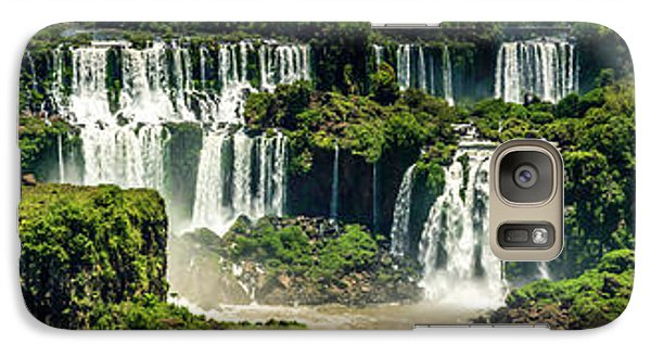 Galaxy Case featuring the photograph The Mighty Iguazu  by Andrew Matwijec