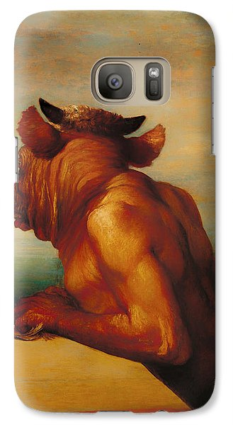 The Minotaur  Galaxy Case by Mountain Dreams