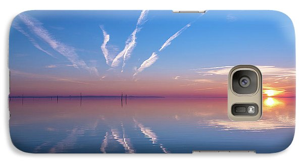 Galaxy Case featuring the photograph The Mirror by Thierry Bouriat