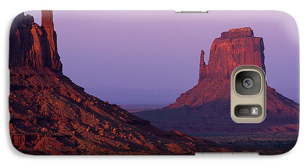 Galaxy Case featuring the photograph The Mittens by Chad Dutson