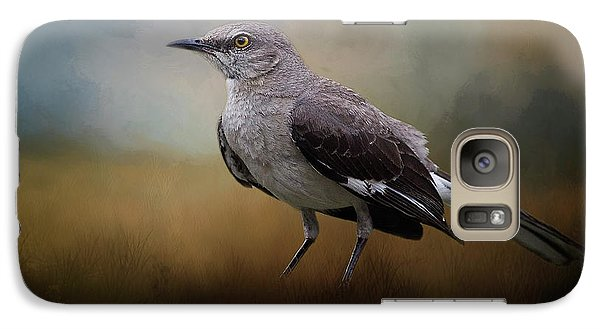 Galaxy Case featuring the photograph The Mockingbird A Bird Of Many Songs by David and Carol Kelly