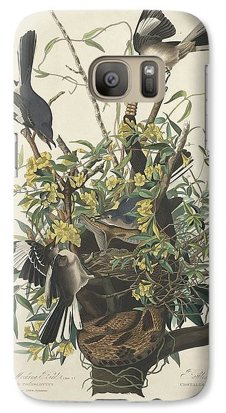 Mockingbird Galaxy S7 Case - The Mockingbird by Dreyer Wildlife Print Collections