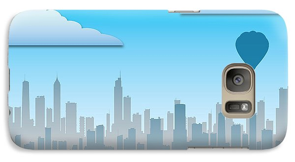 Galaxy Case featuring the photograph The Modern City by Anthony Citro