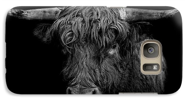 Bull Galaxy S7 Case - The Monarch by Paul Neville