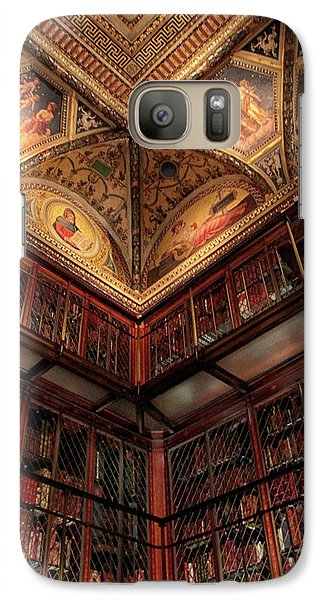 Galaxy Case featuring the photograph The Morgan Library Corner by Jessica Jenney