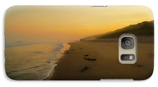 Galaxy Case featuring the photograph The Morning Walk by Roy McPeak