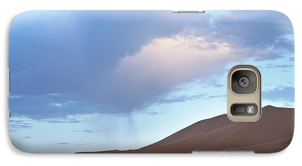 Galaxy Case featuring the photograph The Moroccan Dunes by Yuri Santin