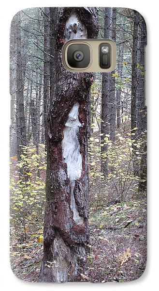 Galaxy Case featuring the photograph The Mouse Ran Up The  by Marie Neder