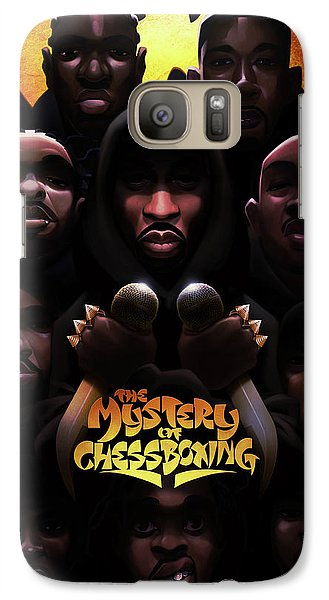 Galaxy Case featuring the digital art The Mystery Of Chessboxing by Nelson dedosGarcia