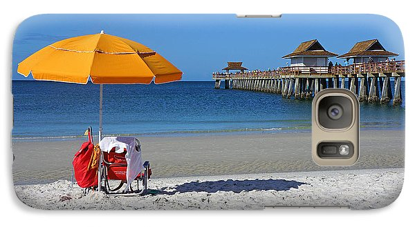 Galaxy Case featuring the photograph The Naples Pier by Robb Stan