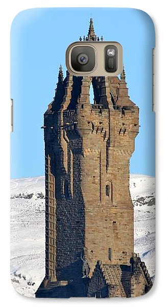 Galaxy Case featuring the photograph The National Wallace Monument by RKAB Works