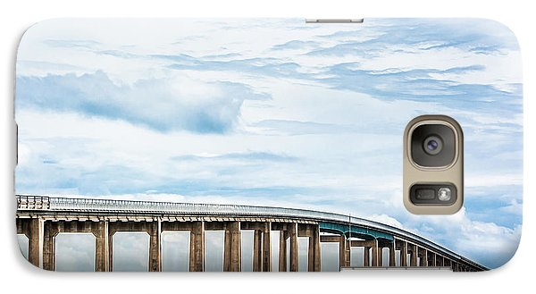 Galaxy Case featuring the photograph The Navarre Bridge by Shelby Young