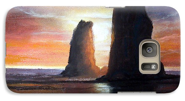 Galaxy Case featuring the painting The Needles by Chriss Pagani