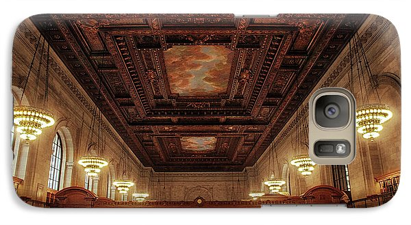 Galaxy Case featuring the photograph The New York Public Library by Jessica Jenney