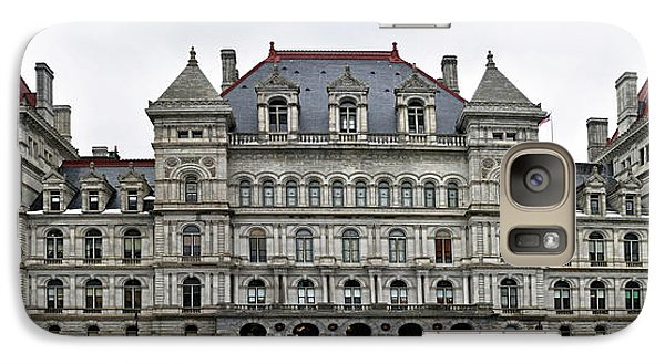 Galaxy Case featuring the photograph The New York State Capitol In Albany New York by Brendan Reals
