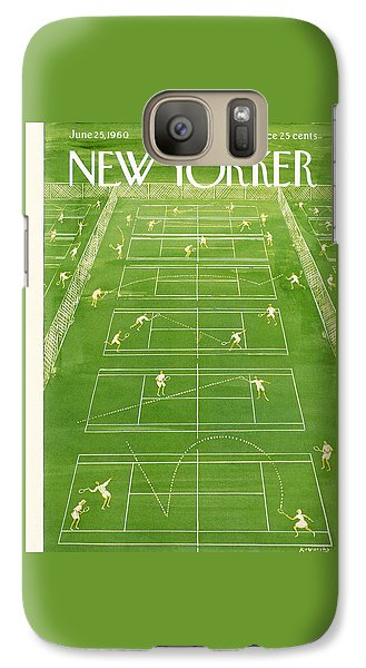 The New Yorker Cover - June 25th, 1960 Galaxy S7 Case