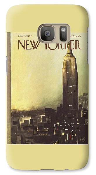 The New Yorker Cover - March 3rd, 1962 Galaxy S7 Case
