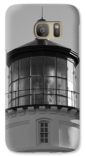 Galaxy Case featuring the photograph The Night Light by Laddie Halupa