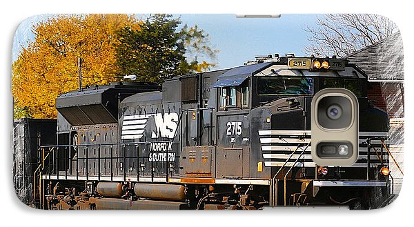 Galaxy Case featuring the photograph The Norfolk Southern by Robert Pearson