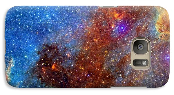 Galaxy Case featuring the photograph The North America Nebula In Different Lights by NASA JPL - Caltech