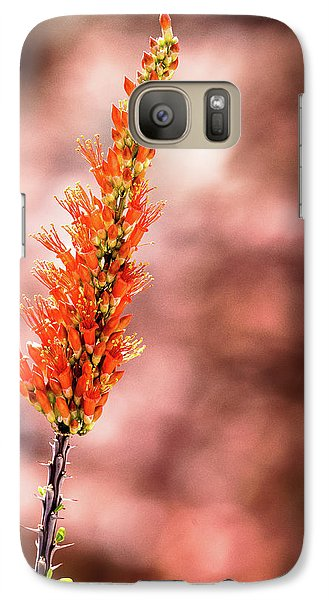 Galaxy Case featuring the photograph The Ocotillo by Onyonet  Photo Studios